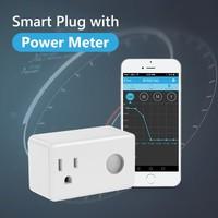 BroadLink SP3S electric 110v smart ac power socket intelligent master slave 2 pin outlet electric smart wifi power meter socket