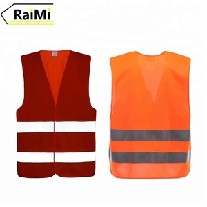 Hot Product safety vest with transparent pocket