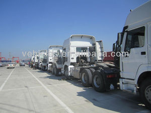 Sinotruk 6x4 336 horse power tractor truck for sale