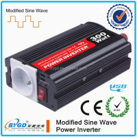 factory price mini DC 12V AC 220V 300W car power inverter supplying
