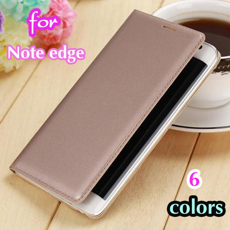 best sneakers 6cbdc 24445 US $2.69 |For Samsung Galaxy Note Edge N9150 Slim Battery Housing Leather  Case Flip Cover Original Luxury Wallet Holster+Screen Protector on ...