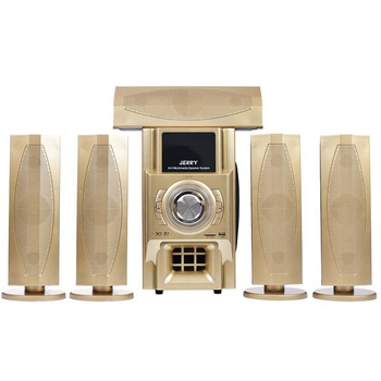Jerry Power 5 1 Channel Hifi Home Theater Stereo Surround Sound Speaker  System - Buy Home Theater Speaker,Wooden 5 1 Home Theatre Sound Speaker