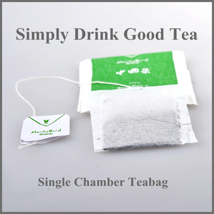 single chamber teabags envelope heat seal teabag filter paper