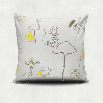 velvet christmas room decor covers high quality print cushion cover