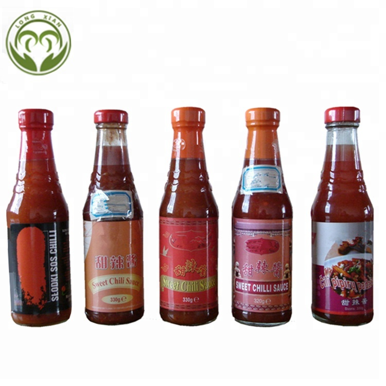 hot selling sweet chili sauce customized brand