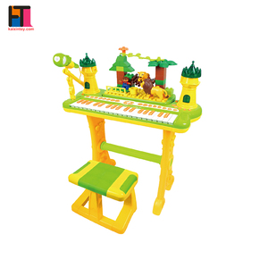 hot amazon toys musical instrument keyboard plastic electronic organ for kids
