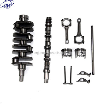 engine spare cylinder block repair kit with crankshaft valves piston