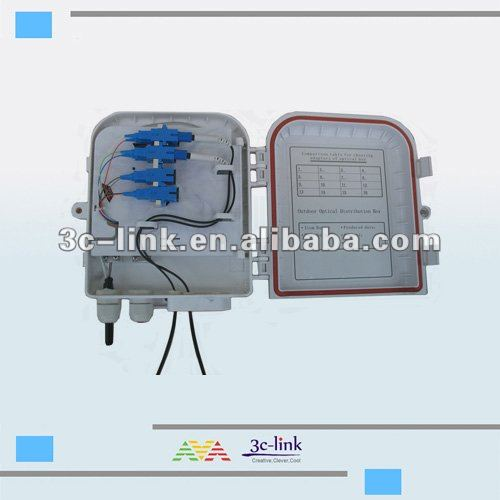 outdoor pole mount optical cable terminal box