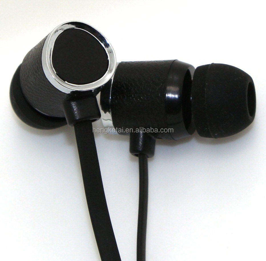 blister packing wired earphones earbud with mic and good sound