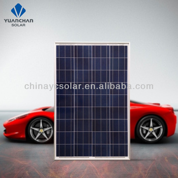 Cheap and fine 100 watt poly in jiangsu factory China manufacturer solar panel