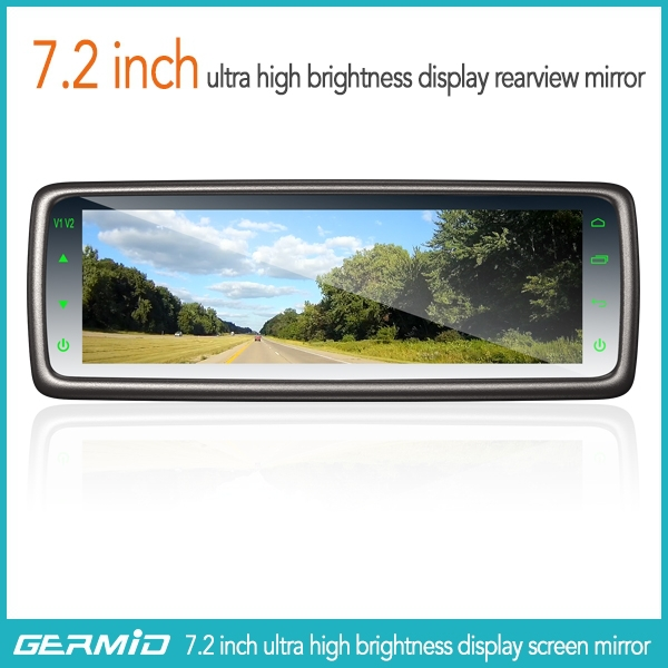 Car Rear View Mirror Monitor With 7.3 Inch Wide Lcd Display ...
