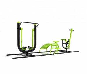 Outdoor Fitness Body exercise equipment Mexico park project