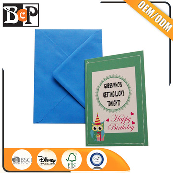 Sample Colored Paper Envelope Decorating Handmade Birthday