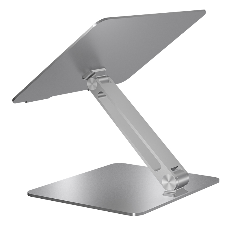 Wholesale Multi Adjustable Lipat Notebook Meja Berdiri Lipat Portable Aluminium Laptop Stand