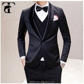 Plus Size Groom Tuxedos Wedding Suits For Men Fashion Slim Party ...