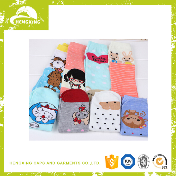 Jacquard Warm Socks Stock Wholesale Cheap Kids Sport Socks Jacquard Socks