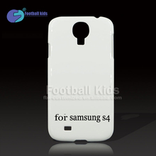 Factory sale unique design 3d sublimation blank phone case,pc cell phone case for sumsung s4
