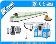 46/60 stations PU pouring shoe sole making machine