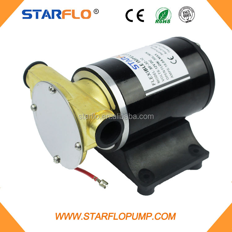 STARFLO high flow small water pump brass 12v impeller pump
