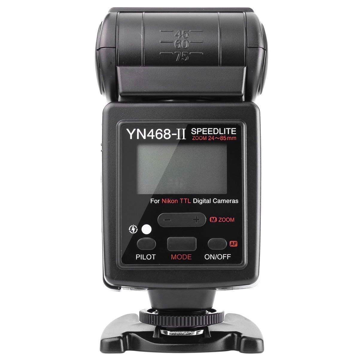 YONGNUO i-TTL Flash Unit Speedlite YN468 II for Nikon D7000 D5000 D5100 D3000 D3100 D300 D300s D200 D90 D80 D70s D60 D40x D40
