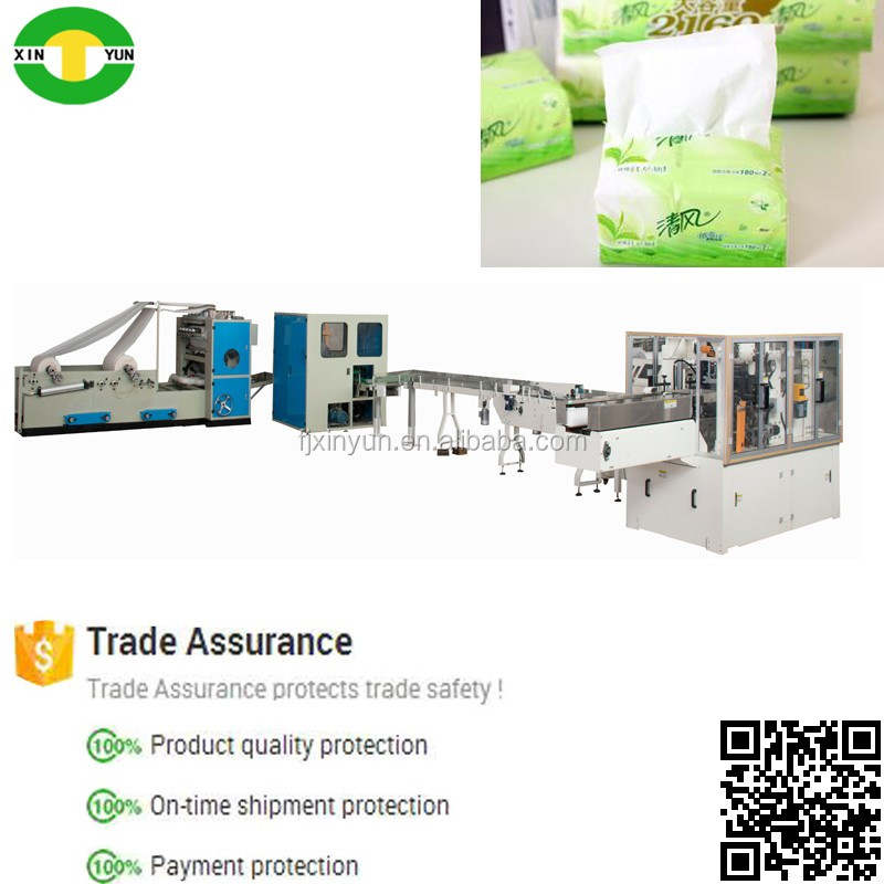 Full automatic dinner tissue machine tissue machine production line