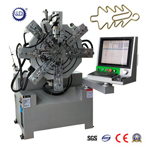 High Quality 10Axes Automatic CNC Camless Spring Forming Machine Supplier from Guangdong