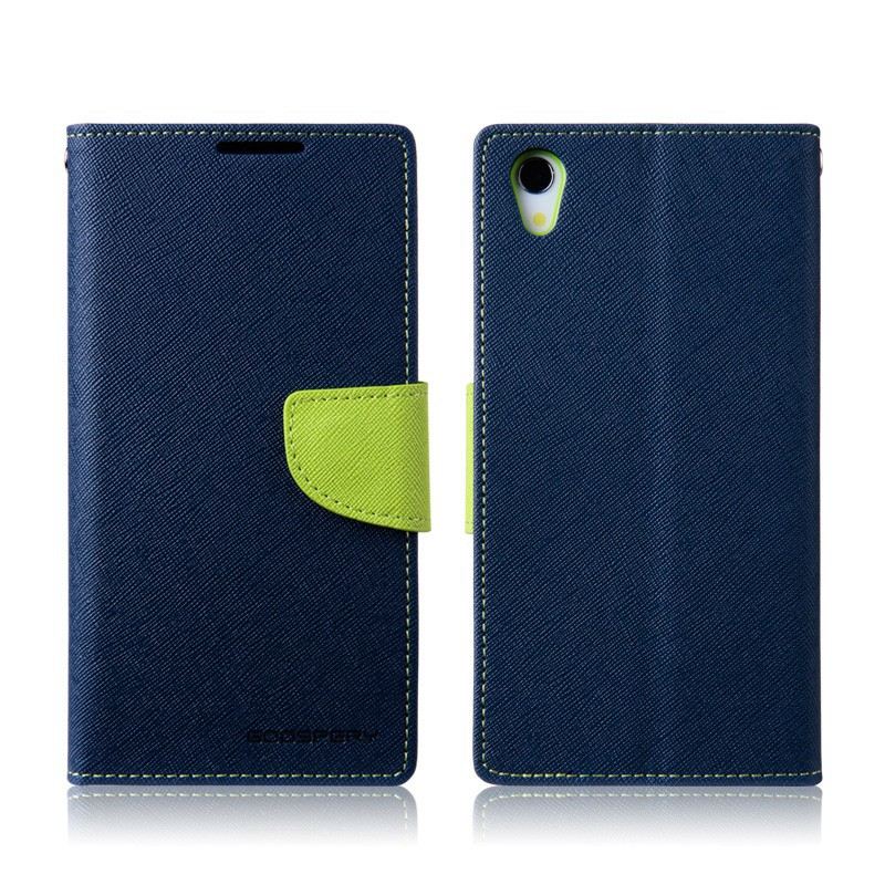 China New arrival pu leather flip case cover for sony xperia c4
