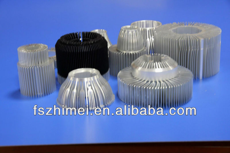 Various of aluminium radiator /heat sink case