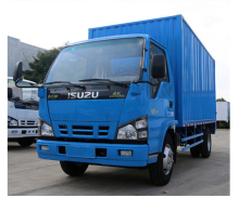 ISUZU ELF EuroV van truck with 4.2 meters long van