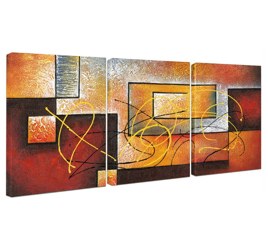 Get Quotations Yimei Abstract Canvas Wall Art Paintings On For Decoration Modern Painting Decor Stretched