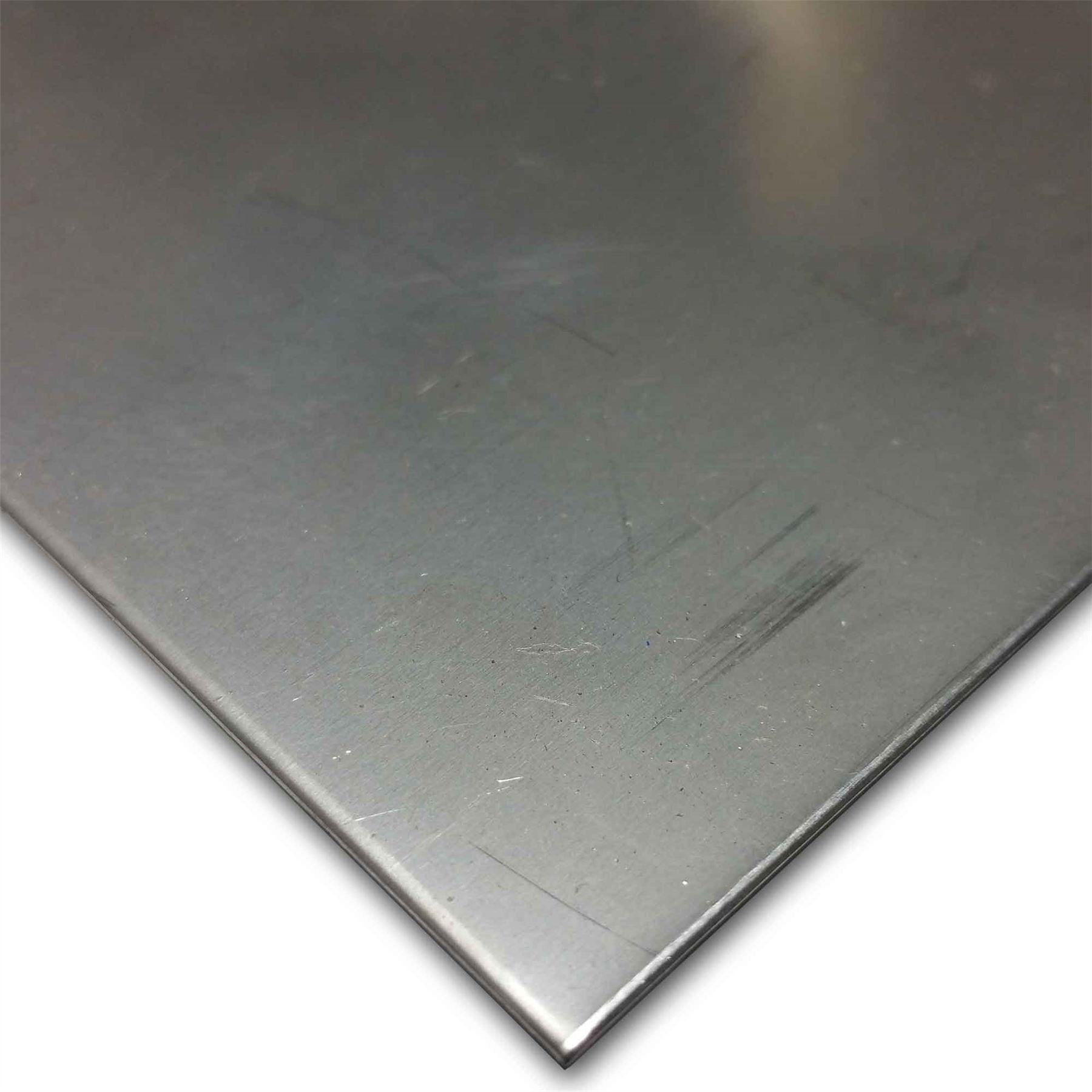 "Online Metal Supply 304 Stainless Steel Sheet .018"" (26 ga.) x 24"" x 48"" - 2B Finish"