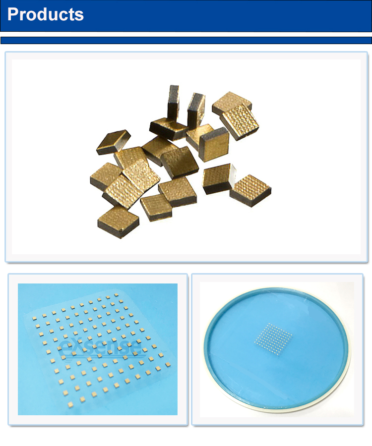 High precision silver termination NTC thermistor sensor ntc chip for bonding IGBT Infrared thermal reactor