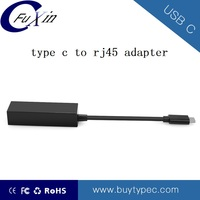 Portable USB 3.1 Type C TO RJ45 Ethernet Adapter with 10/100/1000mbps