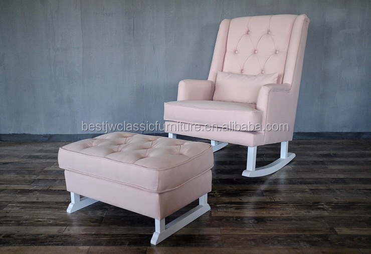 Astounding Hot Sale Living Room Furniture Fancy Leisure Sofa Rocking Chair With Footrest Ottoman Buy Rocking Chhair Leisure Sofa Chair Living Room Furniture Andrewgaddart Wooden Chair Designs For Living Room Andrewgaddartcom