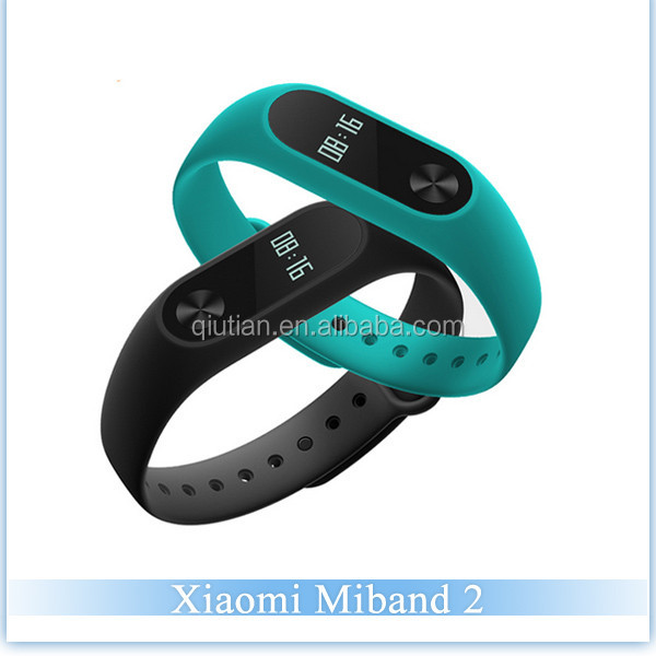 Xiaomi Mi Band 2 IP67 Waterproof Smart Bracelet with OLED Touch Key Control Heart Rate Monitor Sports Tracker for IOS/Android OS