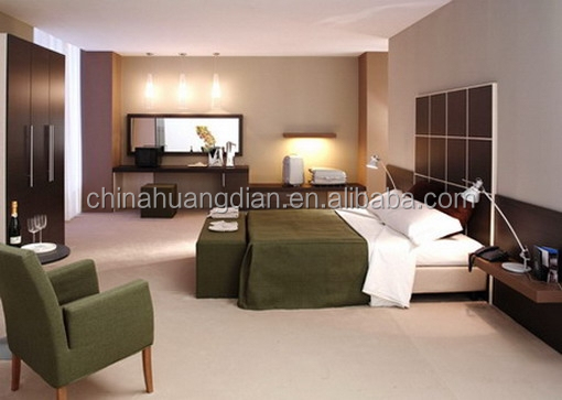 Formica Laminate High End Hotel Furniture, Bedding Royal Hotel HDBR704