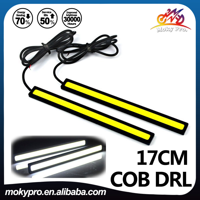 17cm COB drl 76chip led daytime running light for <strong>auto</strong>