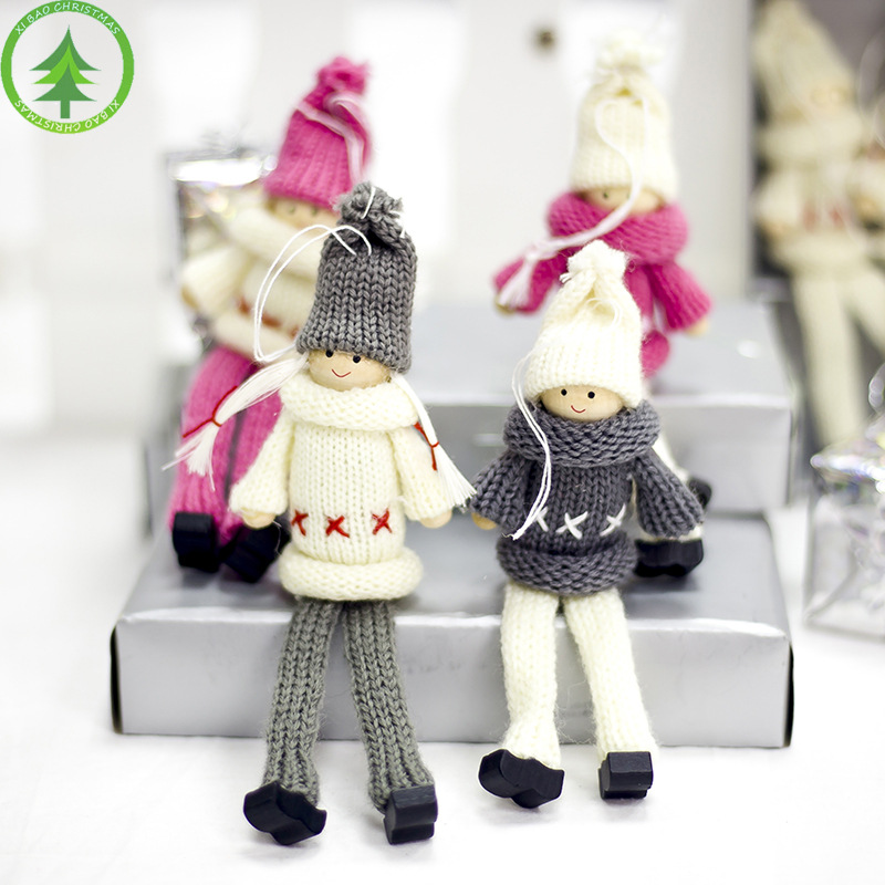 Manufacturers Selling Christmas Ornament Christmas Tree Widget  Doll For Christmas Ideas Cute Doll's Accessories