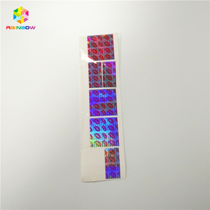 Top quality custom round paper logo label sticker security label hologram sticker