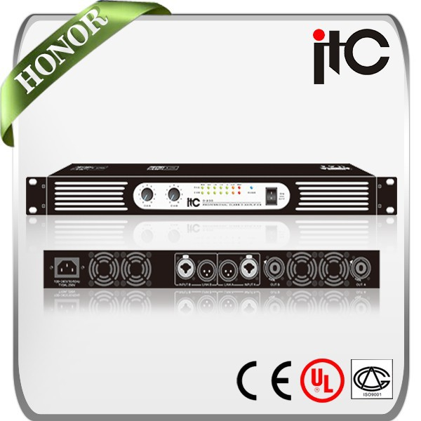 ITC D Series Top Rated Multiple Module D Class Audio Amplifier Hifi, View  pro audio amplifier, ITC Product Details from Guangzhou ITC Electronic