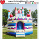 Wholesale Birthday Cake Inflatable Indoor Mini Bouncy Castle for kids