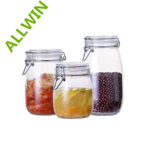Food Use and Eco-Friendly Feature Clip Top Glass Jar Fresh Style and Organic Cultivation Type Jackfruit