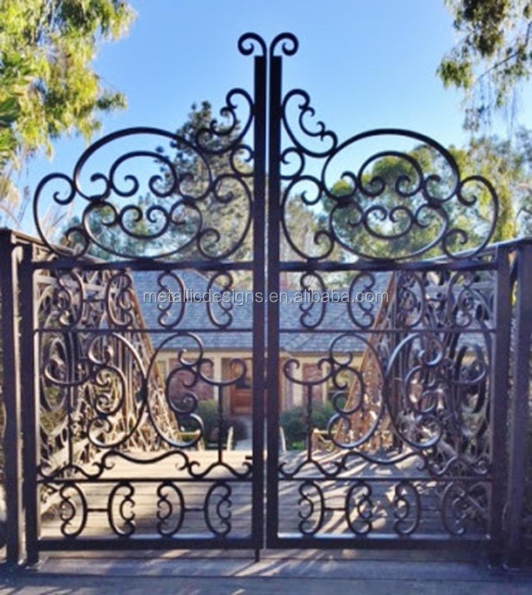 Classic Wrought Iron Gate Classic Wrought Iron Gate Suppliers and