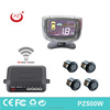 good selling car parking sensor wireless unique design lcd display four rear sensors wireless connect easy install
