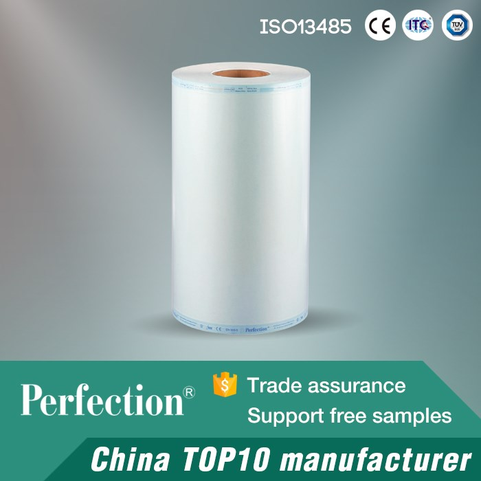 by CE ethylene oxide sterilization tubing roll gas
