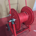 Fire Hose Reel Specification with Wheel and hose 25mmx60m