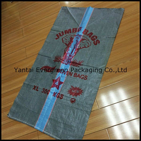 PP woven jute bag, empty PP bags for agriculture use or construction use.