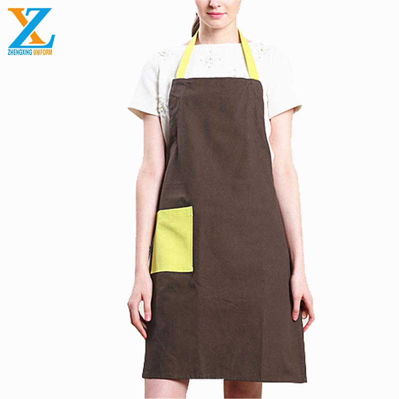 China fashion barista restaurant unisex cooking kitchen apron