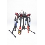 4 Axle Foldable Rack RC Quadcopter Full RTF with AT10 Transmitter QQ Flight Control Motor ESC Propeller Battery