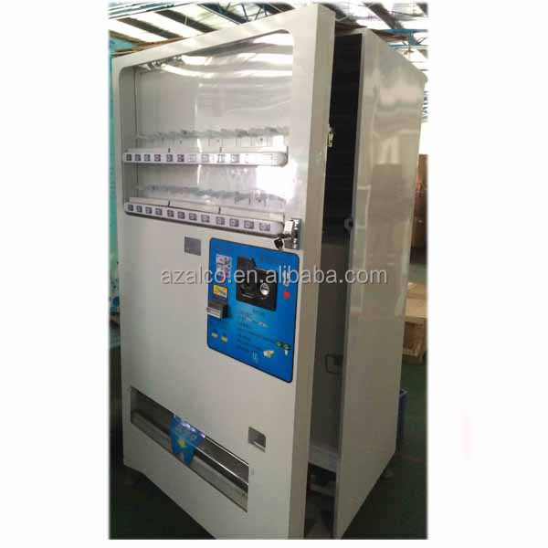 Latest Wholesale 21 Selections Large Capacity Cold Drink Vending Machine On Sale